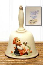 Vintage Goebel Mj Hummel Annual Bell Bird In Tune 1981 Hum 703 West Germany