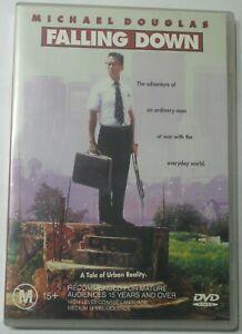 Falling Down - Michael Douglas Robert Duvall Barbara Hershey R4 DVD - free post