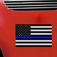 1Pc Blue Lives Matter USA American Thin Line Flag Car Decal Sticker Universal