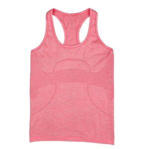 Lululemon Tank Top 6 Womens Pink Peach Swiftly Tech Racerback Seamless Shirt