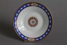 Höchst Empire anno 1790 Gebäckteller Teller D.= ca. 11 cm  Goldrand