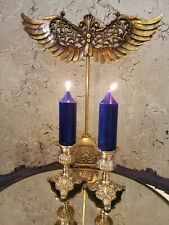 New ListingVintage Pair of Ornate Brass Candle Stick Holders. (Candles not included)