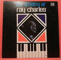 THE ARTISTRY OF RAY CHARLES LP 1962 MONO ORIGINAL GREAT CONDITION! VG++/VG+!!