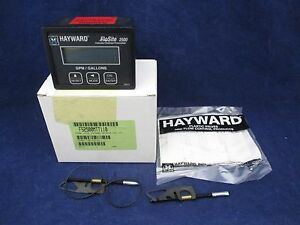 Hayward FloSite 2500 FS2500MTT110 Panel Meter New
