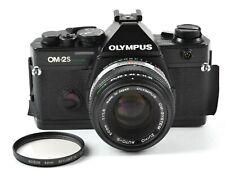 Olympus OM-2S Program Black 35mm SLR Camera 50mm f/1.8 Lens - JAPAN