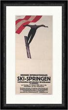 Skispringen in Kitzbühel Walde Grubschanze 1926 Kunstdruck Faks_Plakatwelt 125