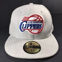 NBA LA Clippers BASKETBALL New Era 59Fifty Fitted BASEBALL Hat CAP Sz 7 1/2
