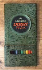 Super Cool Rare Faber Castell Vintage Artist Colour Pencils In Sleeve