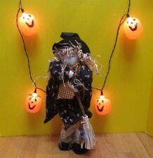 10 1/2' Halloween light strand. 10 oversized pumpkins. Good working condition.