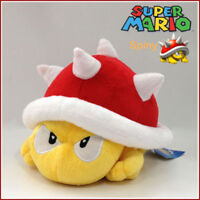 New Super Mario Bros Plush Spiny Koopa 8in Soft Toy Stuffed Animal Doll