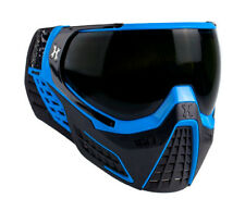 New HK Army KLR Thermal Paintball Goggles Mask - Blackout Blue - Black/Blue