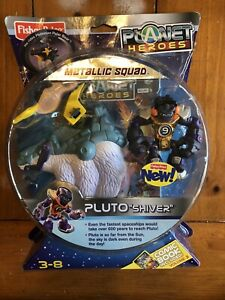 "PLUTO ""SHIVER"" Metallic Squad Planet Heroes Figure MISB Sealed!"