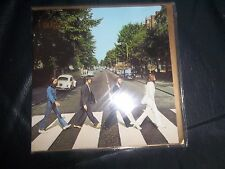 "THE BEATLES APPLE "" ABBEY ROAD "" GREETING, CHRISTMAS CARD  BLANK INSIDE, SEALED"