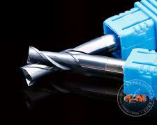 New Hrc55 2flute 8mm x 8mm x 100Mm Coat Carbide End mills Cnc Milling