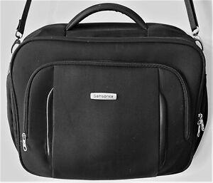Samsonite Laptop Büro Umhänge Tasche Computer Bag schwarz 41x33x13 Zoll 14-15-16