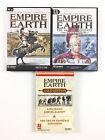 2 Jeu Empire Earth Collection Sur PC (avec the art of conquest expansion gold)