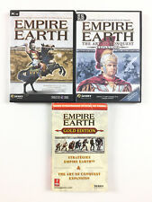 2 Jeu Empire Earth Collection Sur PC (avec the art of conquest expansion gold)