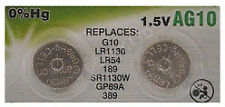 Camelion Alkaline Ag10 1.5v Button Cell (pack of 2)