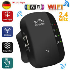 WLAN Repeater-300 Mbit/s WLAN Signal Verstärker Access Point Wifi EU Booster DHL