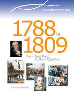 AUSTRALIA YEAR BY YEAR 1788 TO 1809 - BOOK  9780864271136