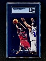 1993-94 Topps Stadium Club #169 Michael Jordan SGC 10 Pop 3