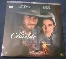 New Sealed THE CRUCIBLE Laserdisc 1996 Widescreen Daniel Day-Lewis Winona Ryder