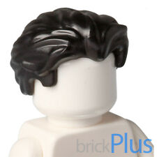 Lego Bruce Wayne Black Hair 70909 Swept Back with Slight Widows 6179788 25972