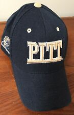 Pittsburgh Panthers  Colosseum Navy Wool Blend Cap Baseball Hat Hook/Loop Strap