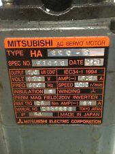 MITSUBISHI SERVO MOTOR HA800-C W/FA-CODER OSE5-K-6-12-108