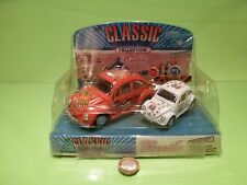 CLASSIC COLLECTION 163 VW VOLkSWAGEN BEETLE + MINI -F LYING - GOOD IN BOX