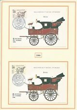 Thème philatélique sur les timbres 1er jour de 86 à 89, Berline..., voir liste.