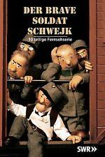 Der brave Soldat Schwejk - 10 teilige Fernsehserie DVD NEU + OVP!