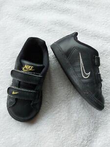Nike Infant Boy's Black Trainers Size 7