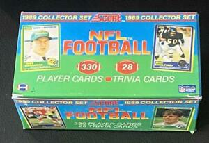 1989 Score NFL Football (Empty) Factory Set Collectible Box no card Clean/Nice a
