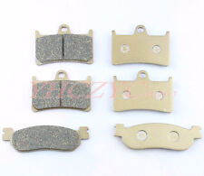 Front Rear Motorcycle Brake Pads Set for YAMAHA YZF R6 99-02 YZF R1 02-03