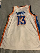 Nike Oklahoma City Paul George Jersey Sound lettere e numeri taglia 50
