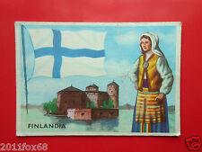 figurines cromos cards figurine sidam gli stati del mondo 45 finlandia flaggen z