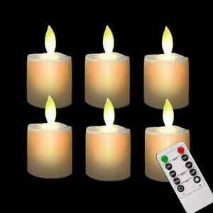 LED Candle Lights Electronic Remote Control Rechargeable Light Tea Decor Gift