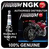 NGK Iridium Spark Plug fits HONDA CBR1100 XX K2 Super Blackbird 1100 02-> [IMR9C
