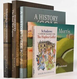 Roger McStravick / St Andrews The Road War Papers In The Footsteps of Old Tom