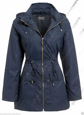 Hip Length Casual Spotted Coats & Jackets for Women