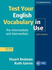 Test Your English Vocabulary In Use Pre-Intermediate And Intermediate With An...