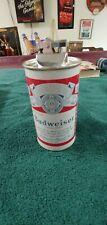 "Vintage Budweiser Beer Can Table Top Lighter 5 5/8"" Kramer Products"
