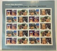 Great Film Directors #4668-4671 Pane of 20 MNH - 2012 Forever Stamps