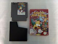 Krusty's Fun House Nintendo NES UK PAL A
