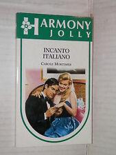 INCANTO ITALIANO Carole Mortimer Harlequin Mondadori 1992 harmony jolly 730 di