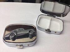 Rolls Royce Cloud 2 ref212 pewter effect car emblem on a silver metal pill box
