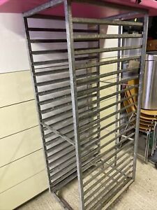 Catering Racking Trolley 20 Shelves Bakery Pan Trays Shelves Commercial Kitchen