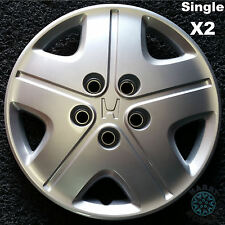 """Honda Hrv 15"""" Genuine Hubcaps Reconditioned x2 (TWO Singles Only)"""