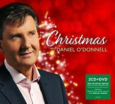 DANIEL O'DONNELL CHRISTMAS WITH DANIEL 2 CD / DVD 2017